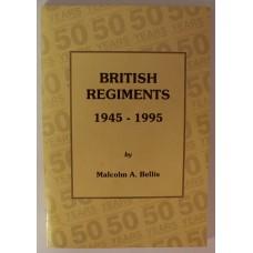 Book - British Regiments 1945-1995