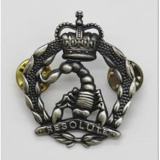 Australia 3rd/4th Cavalry Regiment Cap Badge - Queen's Crown