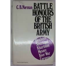 Book - Battle Honours of the British Army