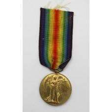 WW1 Victory Medal - Pte. P. Crumplin, Hampshire Regiment