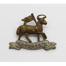 The Queen's (Royal West Surrey) Regiment Collar Badge