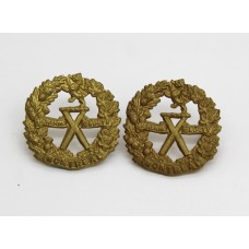 Pair of Canadian Montreal Cadets Collar Badges