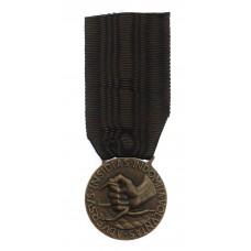 Italian Fascist Anti Partisan Fighter Medal 1944