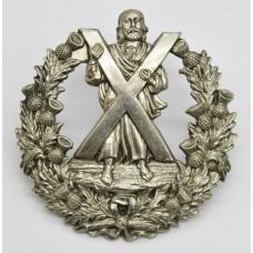 Pre 1881 79th (Queen's Own Cameron Highlanders) Regiment of Foot Glengarry Badge