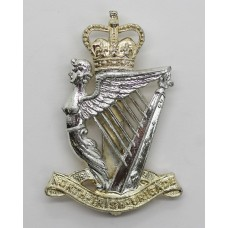 North Irish Brigade Anodised (Staybright) Cap Badge - Queen's Crown