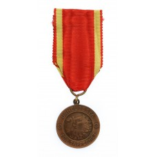 Finland Bronze Order of Liberty Bravery Medal 1941