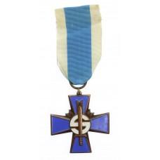 Finland Civil Guard Blue Cross