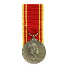 Fire Brigade Long Service Medal - Fireman James Walton