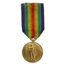 WW1 Victory Medal - A. Walton, Ord., Mercantile Fleet Auxiliary