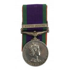 Campaign Service Medal (Clasp - South Arabia) - Gdsm. J. Morris,