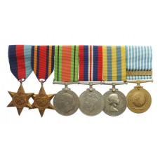 WW2 and Korean War Medal Group of Six - The Rev. R.H. Robbins, C.