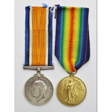 WW1 British War & Victory Medal Pair - Capt. A. Whittome, Roy