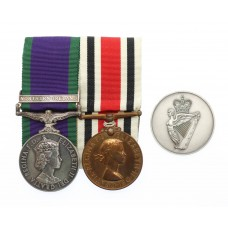 Campaign Service Medal (Clasp - Northern Ireland) and Ulster Special Constabulary Long Service Medal Pair - Pte. W.R. Wilson, Ulster Defence Regiment