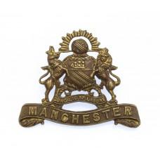 Manchester Regiment Officer's Service Dress Collar Badge