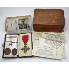 Rare and Interesting M.B.E. (Civil) with Documents  & Badges