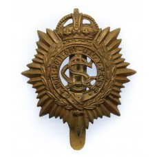 Army Service Corps (A.S.C.) Cap Badge - King's Crown