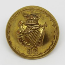 Victorian 86th (Royal County Down) Regiment of Foot Officer's Button (Large)