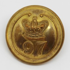 Victorian 97th (Earl of Ulster's) Regiment of Foot Officer's Button (Large)