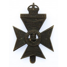 King's Royal Rifle Corps (K.R.R.C.) Cap Badge - King's Crown