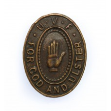 Ulster Volunteer Force U.V.F. For God and Ulster Belfast West Lapel Badge