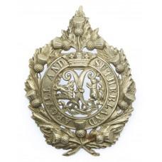 Argyll & Sutherland Highlanders Senior NCO's Cap Badge