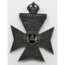 Kings Royal Rifle Corps (K.R.R.C.) Cap Badge - Kings Crown