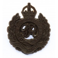 Royal Engineers WW2 Plastic Economy Cap Badge