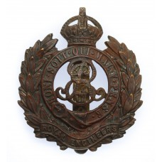 Edward VII Royal Engineers Cap Badge