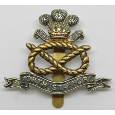 North Staffordshire Regiment Cap Badge