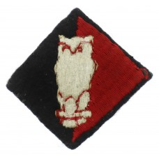 67th Searchlight Regiment R.A. Cloth Embroidered Formation Sign