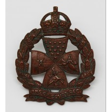 Inns of Court Regiment Cap Badge - King's Crown
