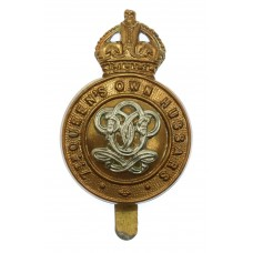 7th Queen's Own Hussars Cap Badge - King's Crown