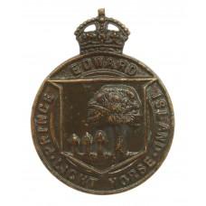 Canadian Prince Edward Island Light Horse Cap Badge