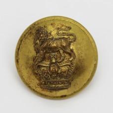 Victorian Royal West Kent Regiment Officer's Button (Large)