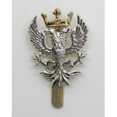 Mercian Brigade Anodised (Staybrite) Cap Badge