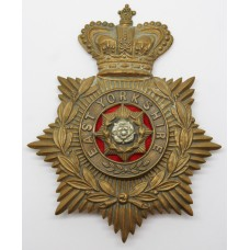 Victorian East Yorkshire Regiment Helmet Plate
