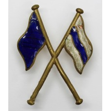 British Army Signallers Enamelled Arm Badge