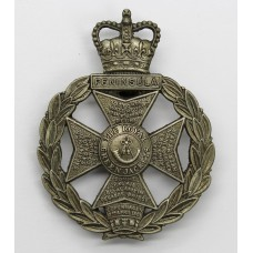 Royal Green Jackets Cap Badge - Queen's Crown