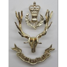 Queen's Own Highlanders Officer's Glengarry Badge