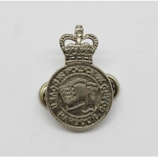 Dover Harbour Board Police Collar Badge - Queen's Crown