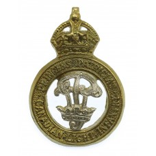 Princess Patricia's Canadian Light Infantry (P.P.C.L.I.) Cap Badge - King's Crown