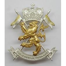 Scottish Yeomanry Cap Badge