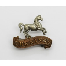 Victorian The King's (Liverpool) Regiment Collar Badge