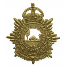 Canadian The Elgin Regiment Cap Badge - King's Crown