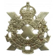 Canadian Scottish Regiment Cap Badge -King's Crown