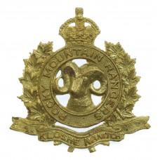 Canadian Rocky Mountain Rangers Cap Badge - King's Crown