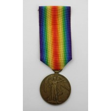 WW1 Victory Medal - Pte. W.J.S. Cook, 12th Bn. King's (Liverpool)