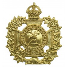 Canadian Hastings & Prince Edward Regiment Cap Badge - King's Crown