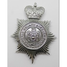 Rochdale County Borough Police Helmet Plate - Queen's Crown