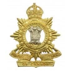 Royal Regiment of Canada Cap Badge - King's Crown